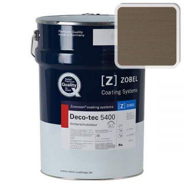 Лак фасадный ZOBEL Deco-tec 5400/5420, Grau 7.05 шелковисто-матовый, 1л