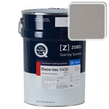 Лак фасадный ZOBEL Deco-tec 5400/5420, Grau 7.40 шелковисто-матовый, 1л