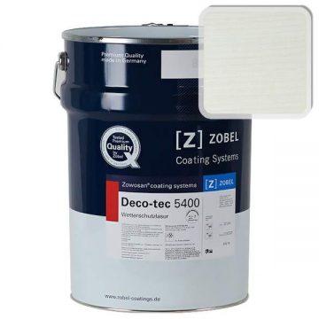 Лак фасадный ZOBEL Deco-tec 5400/5420, Grau 7.51 шелковисто-матовый, 1л