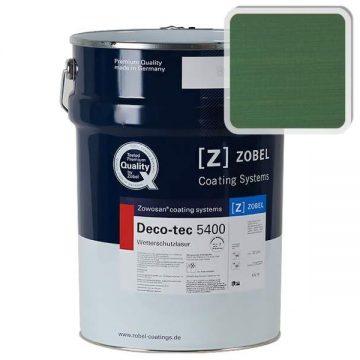 Лак фасадный ZOBEL Deco-tec 5400/5420, Grun 6.00 шелковисто-матовый, 1л