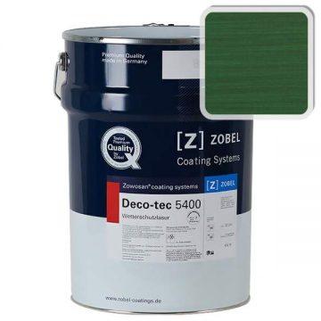 Лак фасадный ZOBEL Deco-tec 5400/5420, Grun 6.01 шелковисто-матовый, 1л