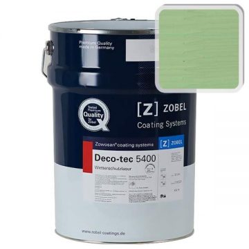 Лак фасадный ZOBEL Deco-tec 5400/5420, Grun 6.19 шелковисто-матовый, 1л