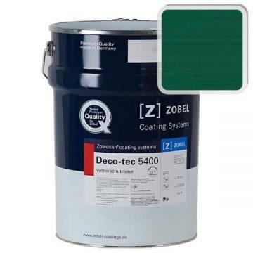 Лак фасадный ZOBEL Deco-tec 5400/5420, Grun 6.29 шелковисто-матовый, 1л