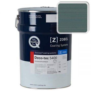 Лак фасадный ZOBEL Deco-tec 5400/5420, Grun 6.34 шелковисто-матовый, 1л