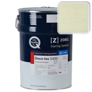 Лак фасадный ZOBEL Deco-tec 5400/5420, Grun 6.40 шелковисто-матовый, 1л