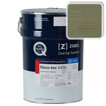 Лак фасадный ZOBEL Deco-tec 5400/5420, Grun 6.41 шелковисто-матовый, 1л
