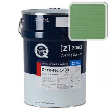Лак фасадный ZOBEL Deco-tec 5400/5420, Grun 6.42 шелковисто-матовый, 1л