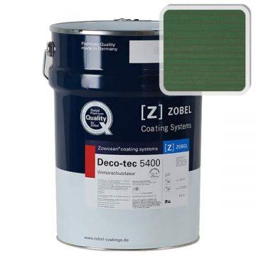 Лак фасадный ZOBEL Deco-tec 5400/5420, Grun 6.43 шелковисто-матовый, 1л