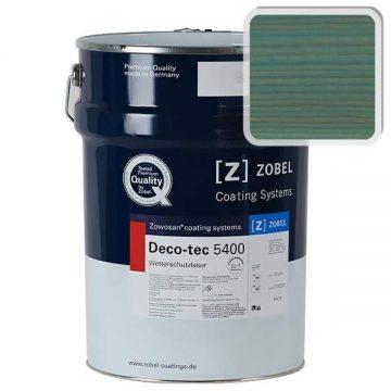 Лак фасадный ZOBEL Deco-tec 5400/5420, Grun 6.45 шелковисто-матовый, 1л