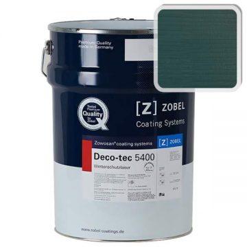 Лак фасадный ZOBEL Deco-tec 5400/5420, Grun 6.46 шелковисто-матовый, 1л