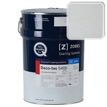 Лак фасадный ZOBEL Deco-tec 5400/5420, Grau 7.47 шелковисто-матовый, 1л