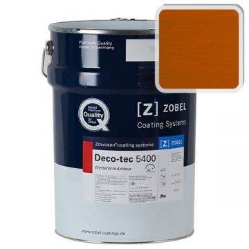 Лак фасадный ZOBEL Deco-tec 5400/5420, K7g orange шелковисто-матовый, 1л