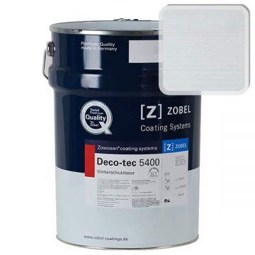 Лак фасадный ZOBEL Deco-tec 5400/5420, Larche Natur 3322 шелковисто-матовый, 1л