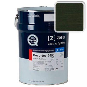 Лак фасадный ZOBEL Deco-tec 5400/5420, grun 6.09, щелковисто-матовый 1л
