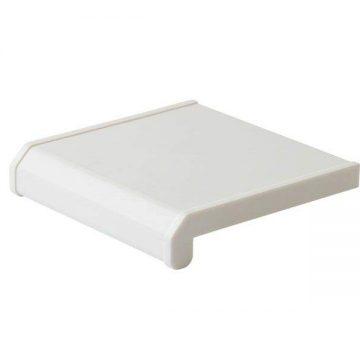 Подоконник пластиковый LUX-40 100мм, белый матовый