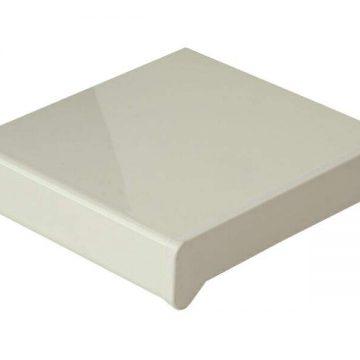 Подоконник пластиковый Moeller 800мм, белый глянцевый
