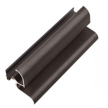 Профиль водоотводный с термовставкой, N22/30, алюминий, темная бронза, АЛЮСТАРТ