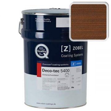 Лак фасадный ZOBEL Deco-tec 5400/5420, Braun 8.17 шелковисто-матовый, 1л