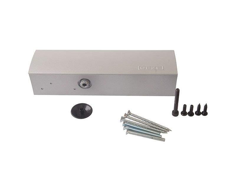 Доводчик Geze TS 2000 VBC EN2/4/5, б/тяги, серебро. GEZ0101.01