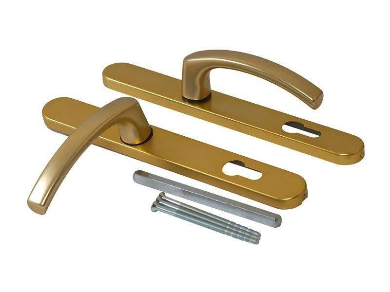 Гарнитур нажимной FKS подпружиненный, золото матовое 30A/1005/F3/TS72. MAX0023.09