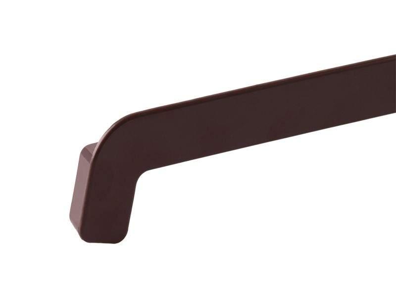 BAUSET MDN Накладка НСЛ торцевая 2-х сторонняя 25/380 мм коричневая