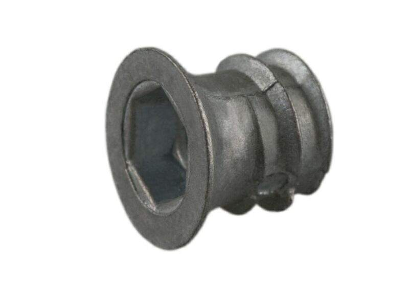 Муфта M6, D=9,5 мм, L-10 мм, цинк BU36. PRM0274