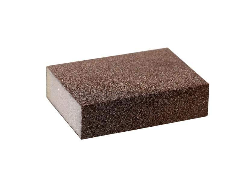 Блок шлифовальный зерно Р80 98х69х26мм ZF(мягкий). SLG1130/80