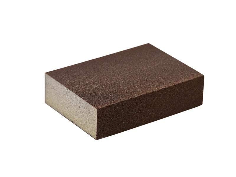 Блок шлифовальный зерно P100 98x69x26мм (жесткий). SLG1131/100