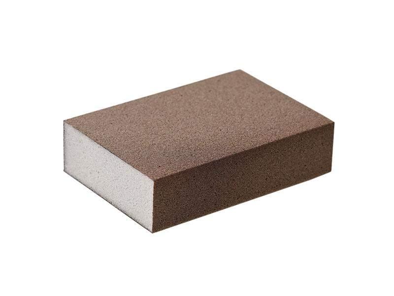 Блок шлифовальный зерно P150 98x69x26мм PF (жесткий). SLG1131/150