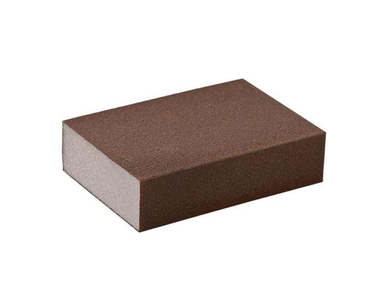 Блок шлифовальный зерно P220 98x69x26мм ZF(мягкий). SLG1130/220