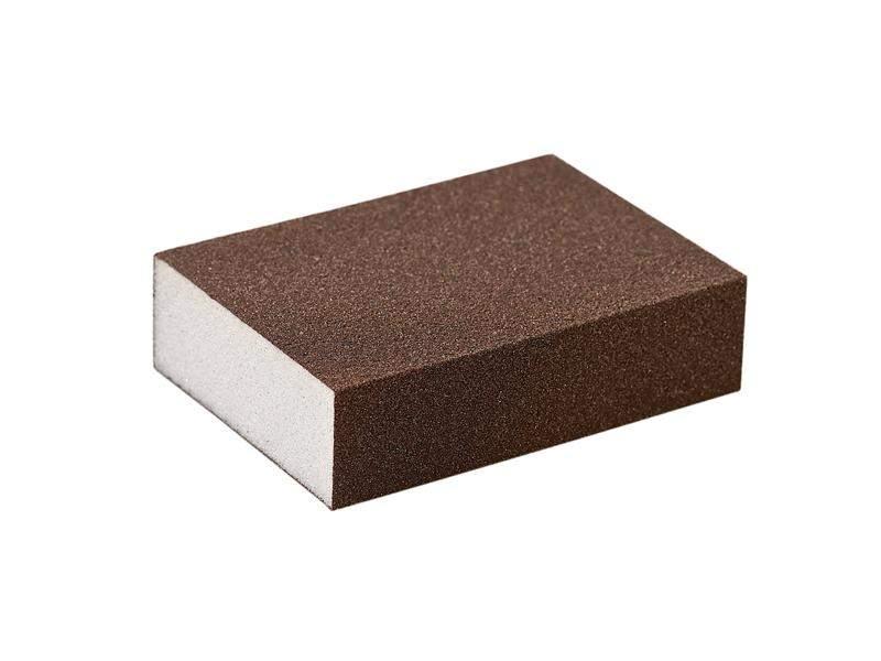 Блок шлифовальный зерно P80 98x69x26мм PF (жесткий). SLG1131/80