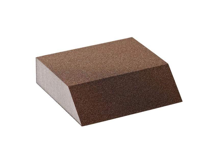Блок шлифовальный Flexifoam Angle Block 98x86x26мм Р100. SLG1135/100