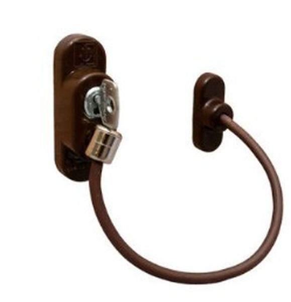 Блокиратор поворота Penkid с тросиком и ключом коричневый. ELE0074.05