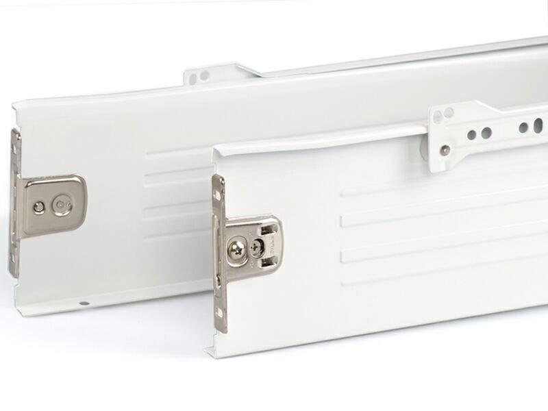 Боковины Firmax на роликовых направляющих, H=118 мм, L=300мм, белый (4 части). FRM0382.07