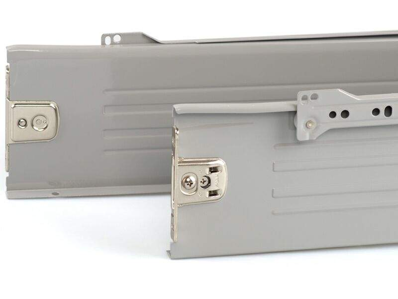 Боковины Firmax на роликовых направляющих, H=118 мм, L=350мм, серый (4 части). FRM0383.43