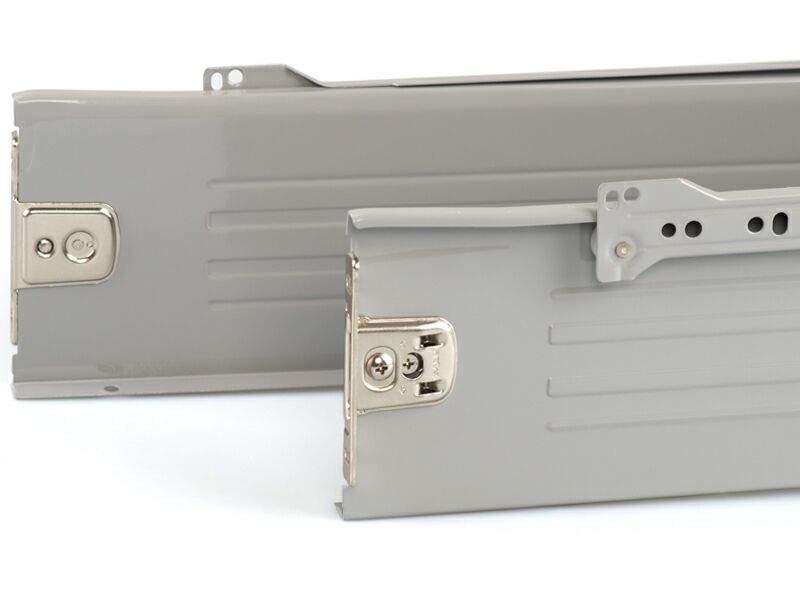 Боковины Firmax на роликовых направляющих, H=118 мм, L=400мм, серый (4 части). FRM0384.43