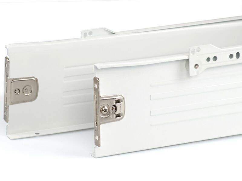 Боковины Firmax на роликовых направляющих, H=118 мм, L=500мм, белый (4 части). FRM0386.07