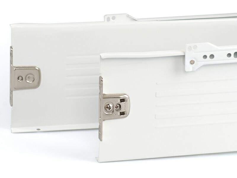Боковины Firmax на роликовых направляющих, H=150 мм, L=400мм, белый (4 части). FRM0394.07