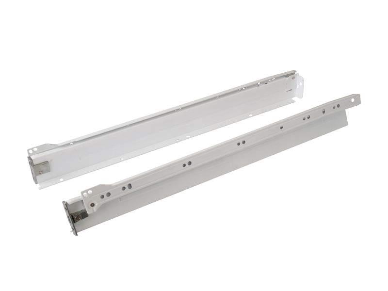 Боковины Firmax на роликовых направляющих, H=54 мм, L=500мм, белый (4 части). FRM0366.07