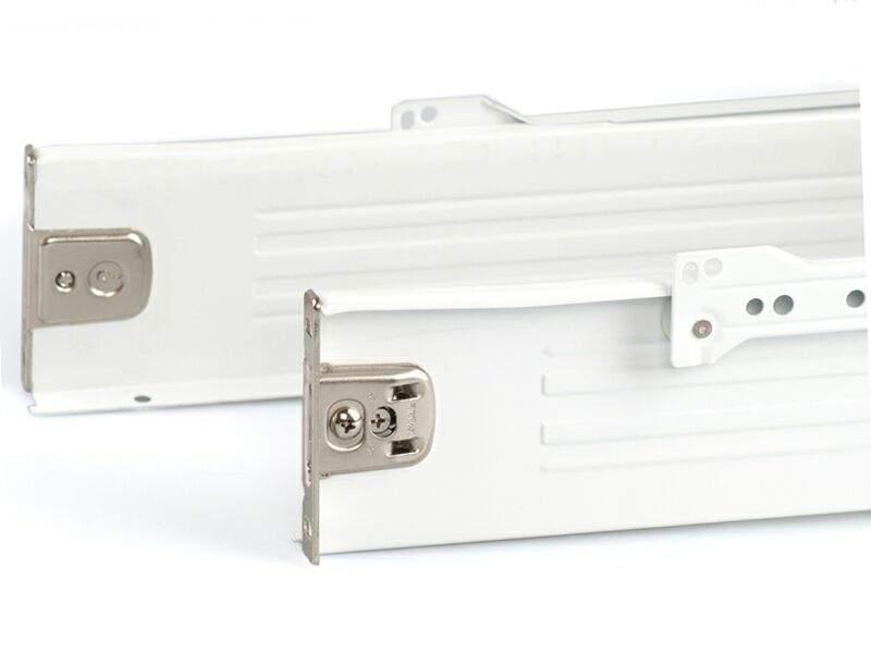 Боковины Firmax на роликовых направляющих, H=86 мм, L=250мм, белый (4 части). FRM0370.07