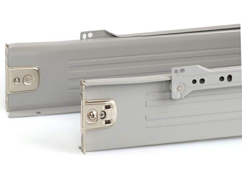 Боковины Firmax на роликовых направляющих, H=86 мм, L=300мм, серый (4 части). FRM0372.43