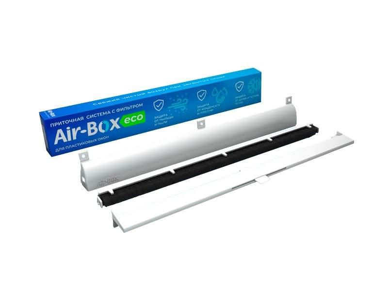 Cистема оконная приточная Air-Box ECO с фильтром класса G3. AIR0050.07