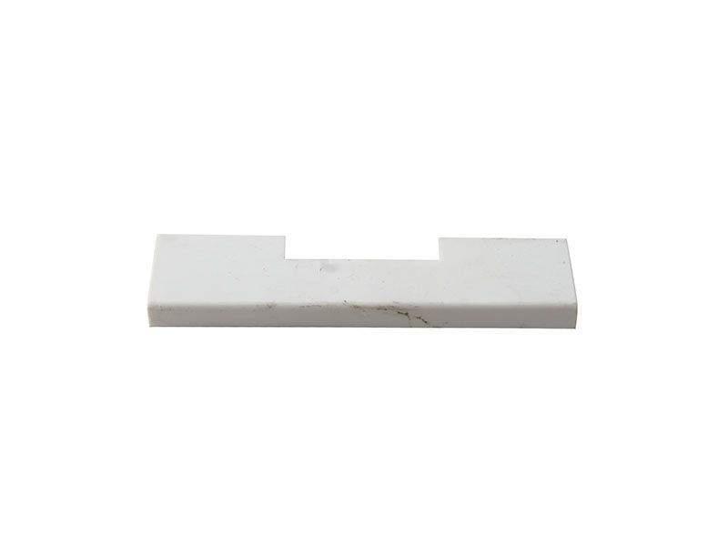 Накладка среднего прижима створочная часть RAL9016 Белая
