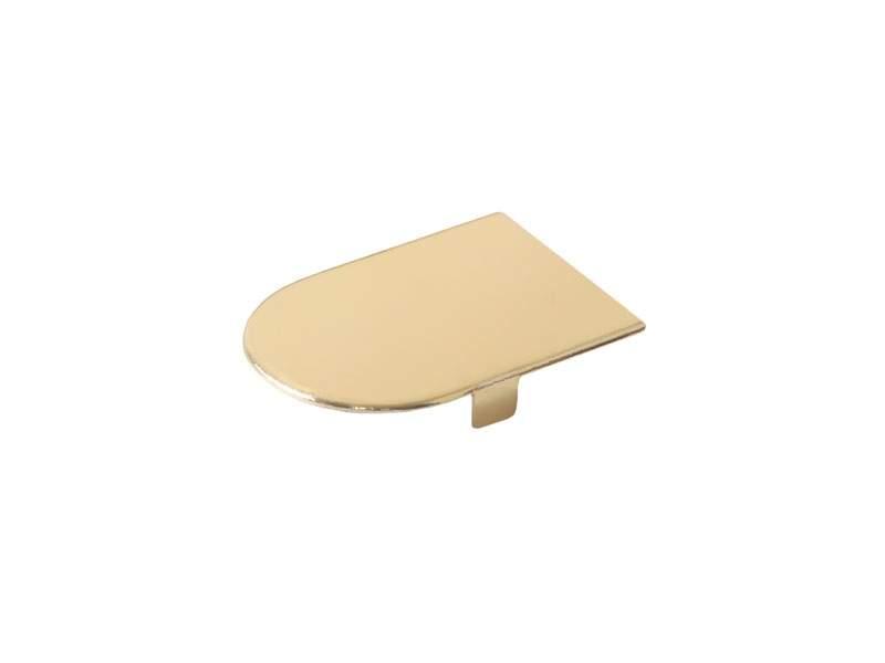 Декоративная накладка для скрыт. петли OTLAV INVISACTA 3D, золото глянец. OTL0302.20