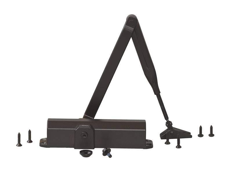 Доводчик MAXBAR 100 Size2/3/4 с тягой, темно-коричневый. MAX0006.05
