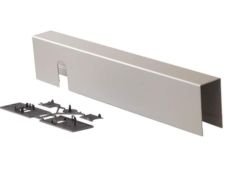 Крышка BASIC для распашных приводов ED100/250, серебро, 29241001. DOR2067.01
