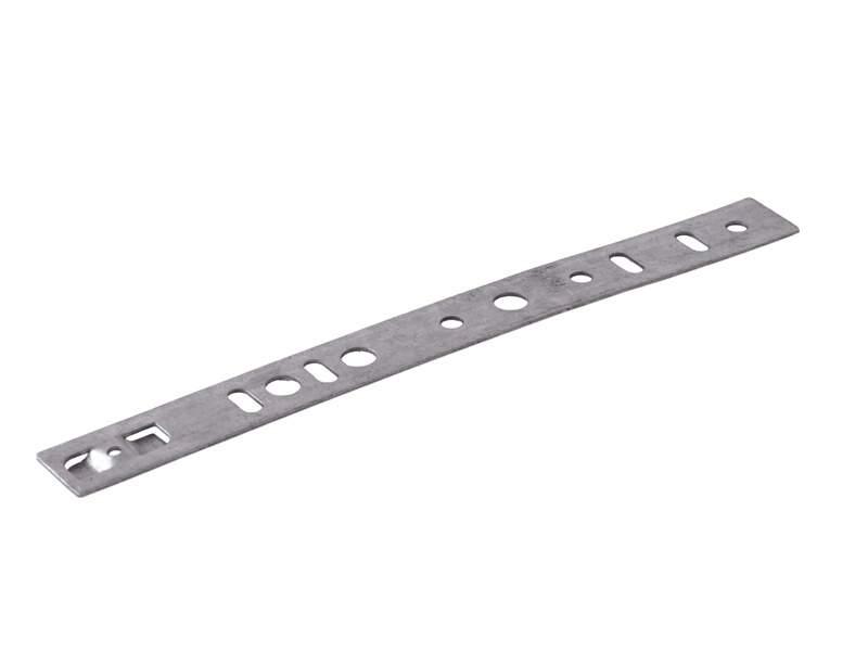 Пластина анкерная для профиля KBE, LG, 255 мм. ANK0048.12
