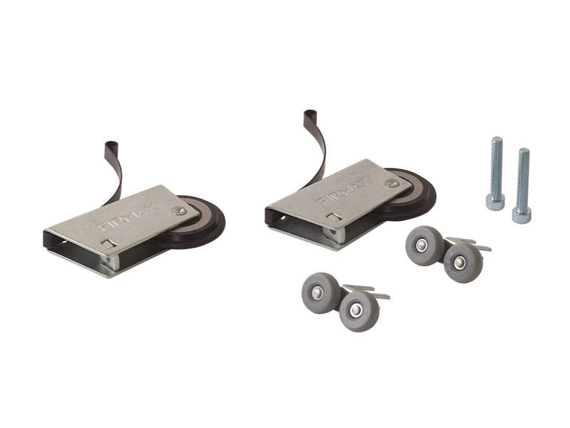 Комплект роликов на симметричную дверь (2+2) FIRMAX. FRM2445