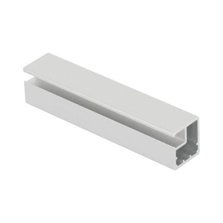 Профиль фасадный алюминиевый 21х19 мм (PK0.TBM/R19*21), анод. серебро мат., L=6000, Firmax. FRM2701