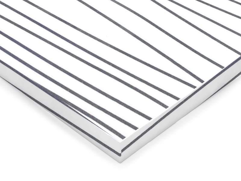 Фасад МДФ глянцевый белое серебро 621 AGT. FAS0400/621
